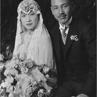 1920s Chinese wedding dress