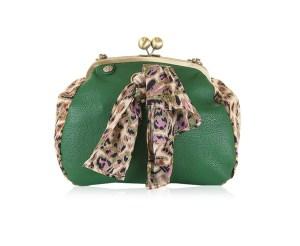 Adelaide Handbag in Emerald