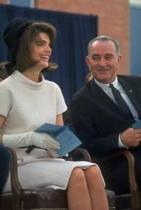 Jackie Kennedy in 1963