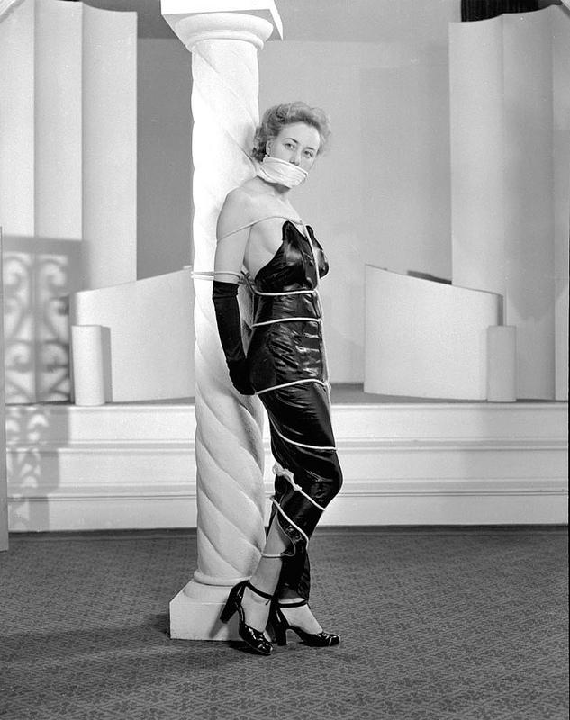 Vintage bondage in the 1940s