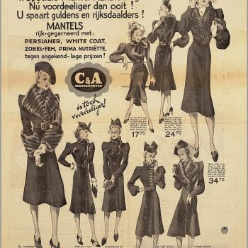 1930s fur advert