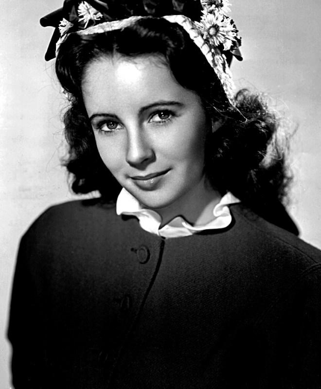 Elizabeth Taylor aged 13
