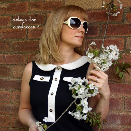 Vintage 1960s Mary Quant shift dress