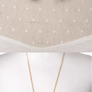 Win a gold collar necklace (or a cute bird necklace)
