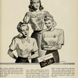 A 1940s summer wardrobe by Lynn Lester