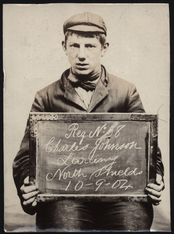 Criminal mugshots from the 1900s