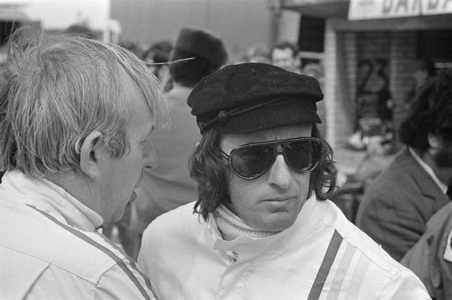 Jackie Stewart 1970s sunglasses