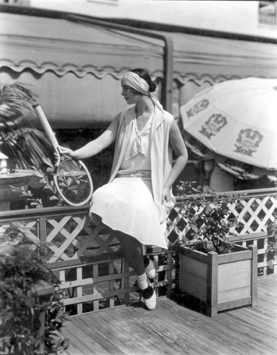 1920s tennis fashions