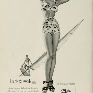 1940s Cole of California advert
