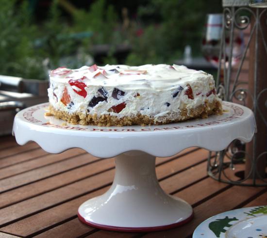 broken glass cake