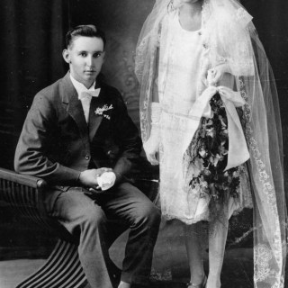 1920s wedding photos