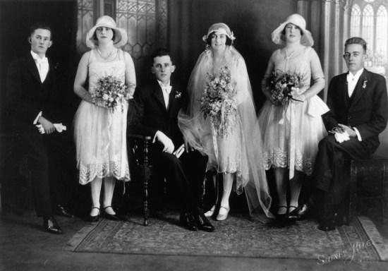 1920s wedding dress