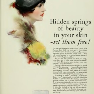 1920s soap advert