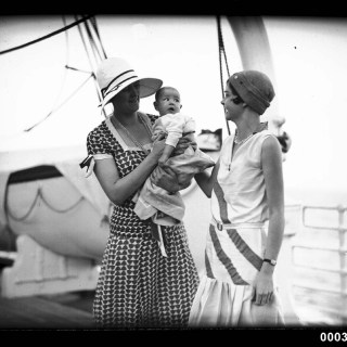 1930s cruise fashions
