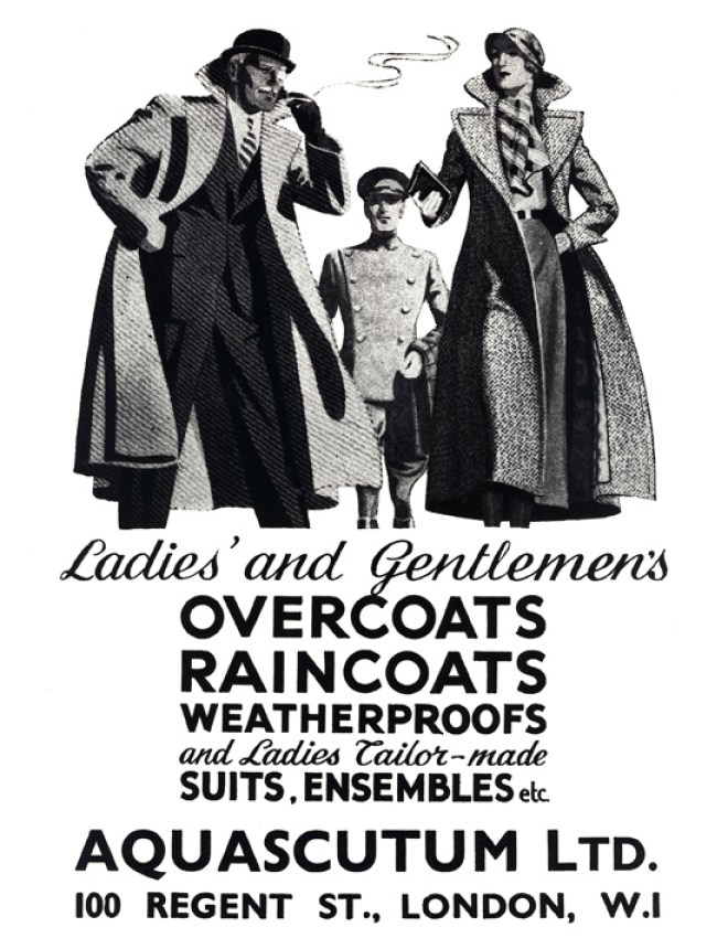 Vintage Aquascutum, by Royal Appointment no less...