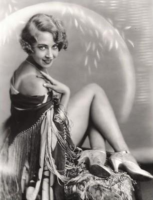 Doris Eaton Travis as Ziegfeld Girl