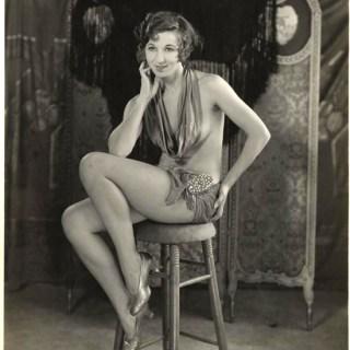 Fanny Brice pin up photo c.1915