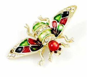 Win a Beautiful Vintage 1960s Insect Brooch