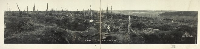 Flanders field No Mans Land WW1