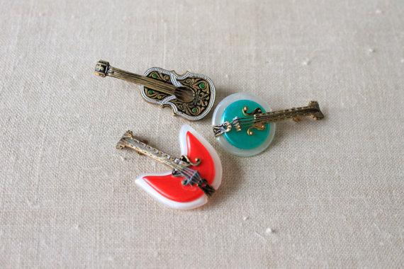 1960s Novelty Pins