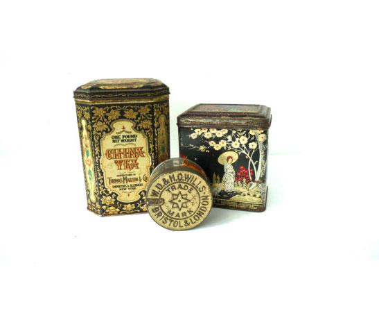 Trio of Vintage Tobacco Tins