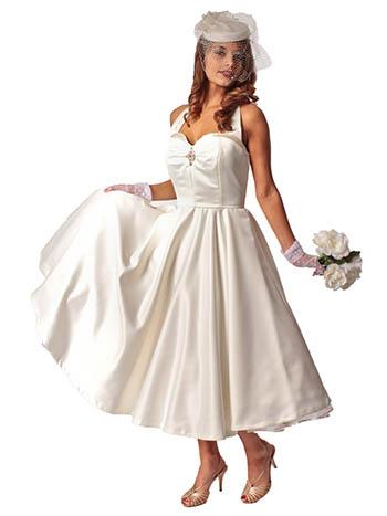 Classic Dame Ivory 50s Style Wedding Dress