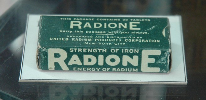 "The ""Strength of Iron"" only radioactive."