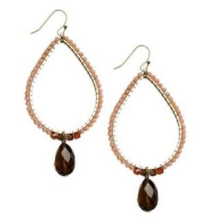 Win a Pretty Pair of Rose Quartz Earrings