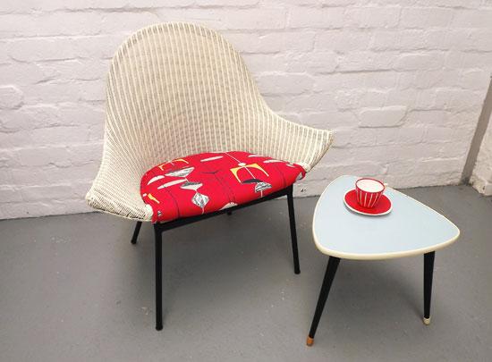1950s' Lloyd Loom Lusty chair