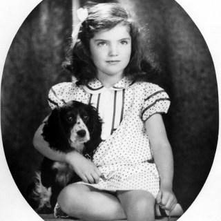 Jackie Kennedy Aged 6