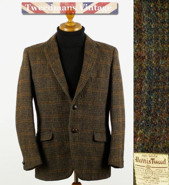Vintage 1940's 1950's Harris Tweed jacket