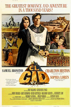 El Cid Film Poster