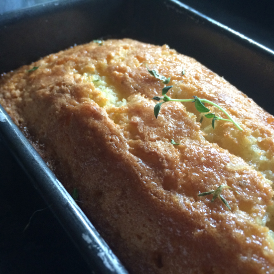 Saturday Baking: Nigel Slater's Thyme & Lemon Cake