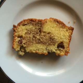 Saturday Baking: Cinnamon Swirl Loaf Cake