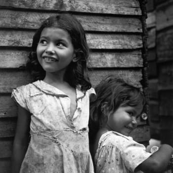 Smiling Slum Children of the 1940s