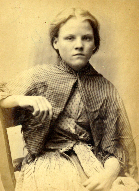 Rosanna Watson was sentenced to 7 days hard labour after being caught stealing iron.