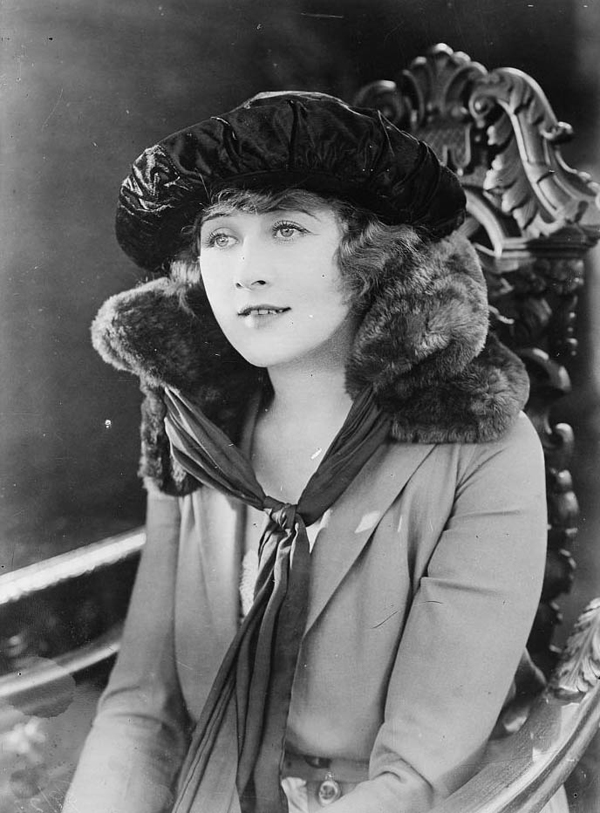 Silent Movie Stars: Anna Q Nilsson