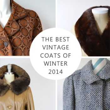 The Best Vintage Coats of Winter 2014