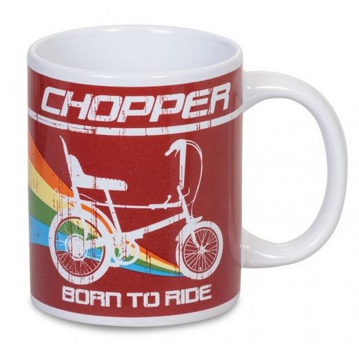 Retro gifts: Raleigh Chopper bike mug