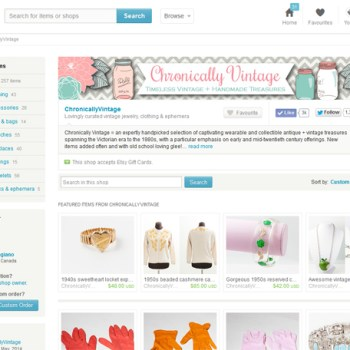 An Etsy Store Owner's Tips for Selling Vintage (With Etsy Coupon Code)