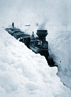 Vintage snow photos