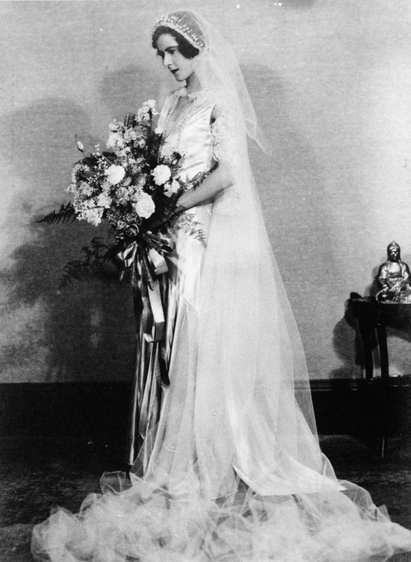 1930s wedding dress