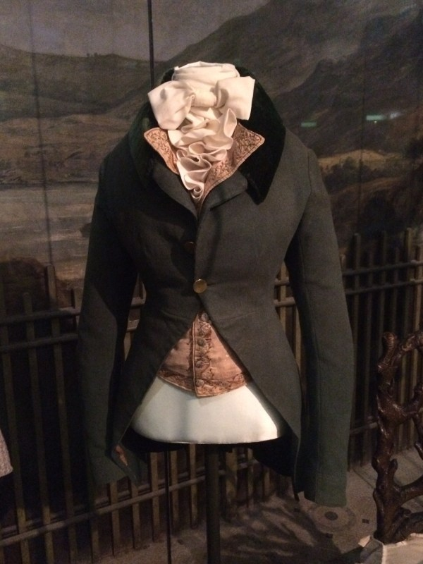 Womens riding jacket 19th century