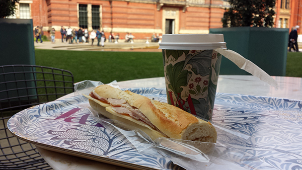 Lunch at the V&A