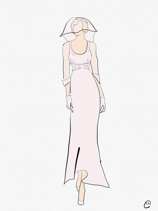 Marilyn Monroe's Wedding Dress Arthur Miller