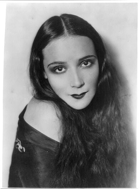 Young Delores Del Rio before she was famous
