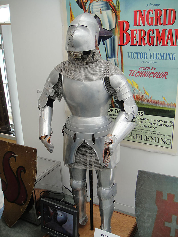 Ingrid Bergmans suit of Armor from Joan of Arc