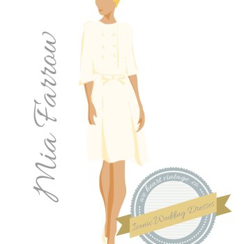 Iconic Wedding Dresses #6: Mia Farrow (1966)