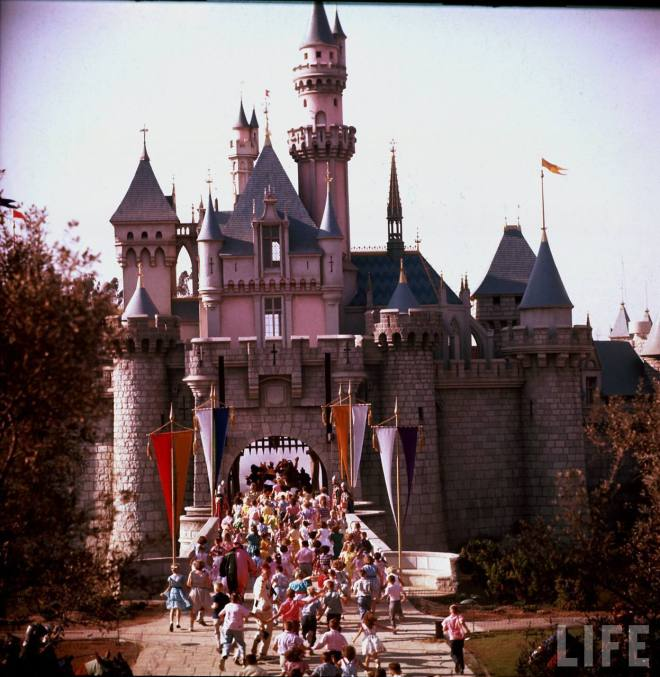Vintage Disneyland photos 1950s