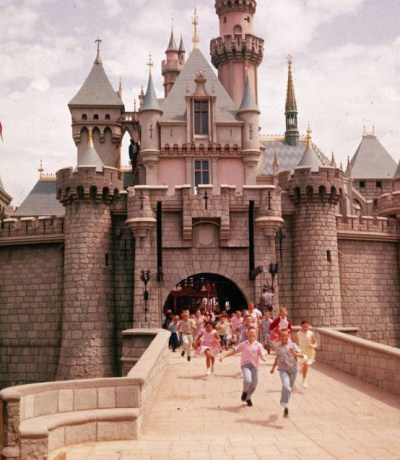 Disneyland in the 1950s